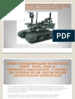 DISEÑO E IMPLEMENTACION DE PROTOTIPO ROBOT MOVIL,