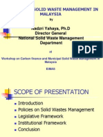 Overview MSW Management