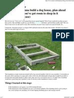 Dog House Plans 6