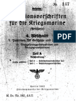 """M.Dv.190/4A11"" Munitionsvorschriften fur die Kriegsmarine (Artillerie) - 1942"