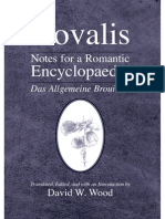 Novalis- Notes for a Romantic Encyclopaedia (2007)
