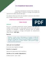 LECCIÓN 6 PROBLEMAS DE TABLAS LÓGICAS