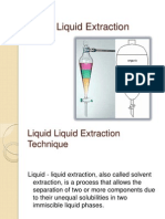 1. Liquid Liquid Extraction