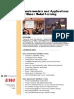 Sheet Metal Forming Brochure Doc