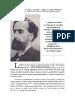 La Reforma Vareliana y El Presente