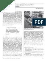 56 Mercado y Regulacion de Medicamentos y Farmacos en El Peru