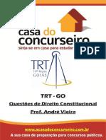 Questoes Extras TRT GO Direito Const Andre Vieira