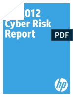Hp 2012 Cyber Risk Report