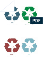 Categorizacion de Plasticos