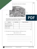 Photosynthesis QP New Syllabus (2010-2012)
