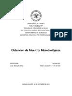 Obtencion de Muestras Microbiologicas