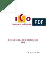 Informe Gob Corporativo 2012