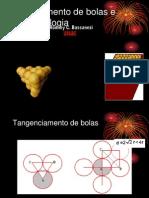 empilhamento de bolas e biomatemática