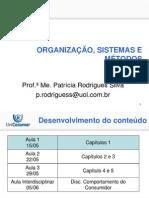 Slide Da 1 Aula Ao Vivo de Organizacao Sistemas e Metodos (2)