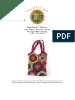 Crochet Granny Aqres Bag