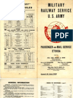 1945 06 20 MilitaryRailwayService USArmy Passenger Mail Service ETOUSA