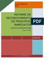 Informe biotecnología