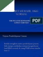 Interpretasi Gambaran Ekg Strip Normal