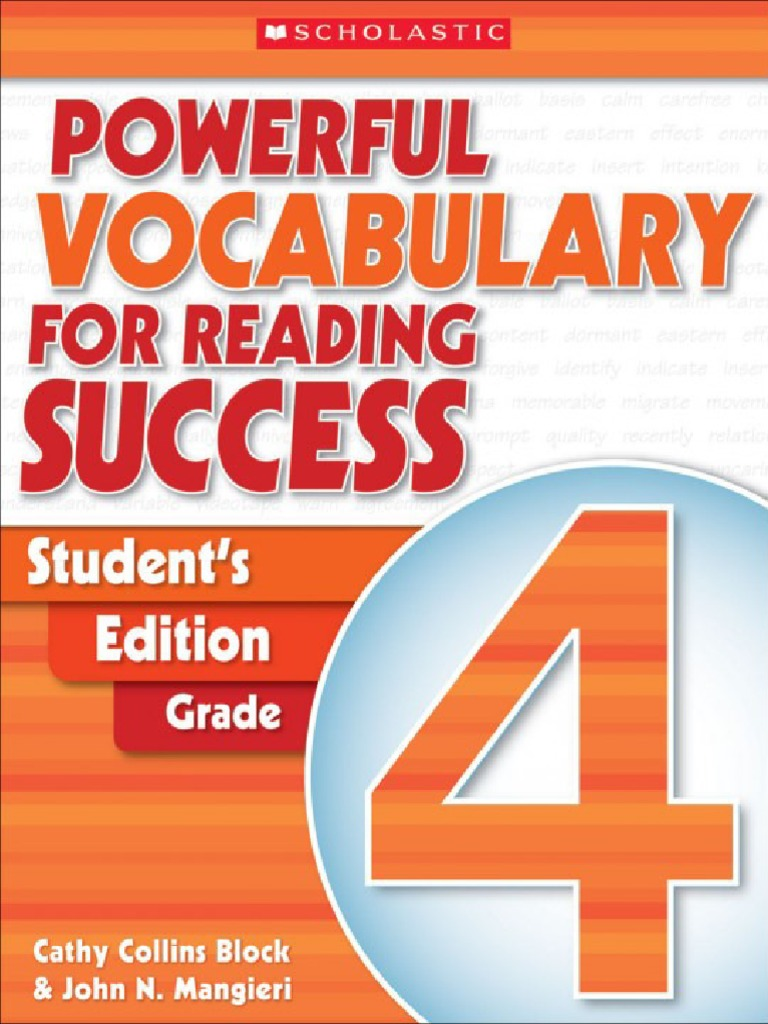 Powerful.vocabulary.for.Reading.success Student\'s.edition Grade.4 ...