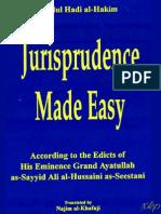 Jurisprudence made easy -  Ayatullah Sayyid Ali al-Hussaini as-Sistani (Seestani) - XKP