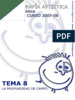 TEMA 8[1]. Profundidad de Campo. FOT ARTiSt 2007 08