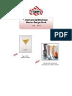 Manual de Bartender Fridays (Ingles)