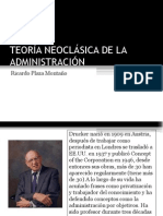 TEORÍA NEOCLÁSICA DE LA ADMINISTRACIÓN