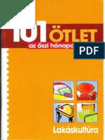 Lakáskultura különszám 101 ötlet 2003/1