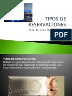 Tipos de Reservaciones