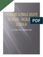 CURS 8 Probleme Globale Legate de Mediu