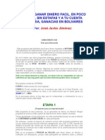 Programa Generador de Dinero (Solo Para Venezuela