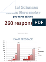 Social Sciences Issues Barometer Results