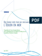 Rapport FEE Éolien en mer 2013