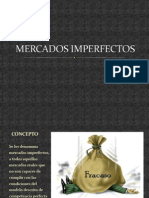 MERCADOS IMPERFECTOS...