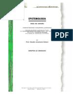 Altisen, Claudio Josemaría, Epistemología
