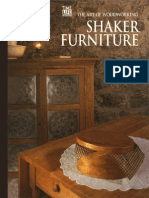 17. the Art of Woodworking - Shaker Furniture