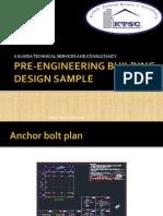 Pre Engineering Building Design Sample