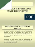 Evolucion Historica Del Analisis de Puestos