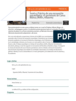 Teoría y Práctica de una excavación arqueológica_ el yacimiento de Cueva Blanca (Hellín, Albacete)