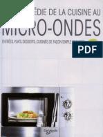 Encyclopedie de La Cuisine Au Micro-Ondes_WL