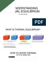 4.1 Thermal Equilibrium