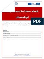 All You Need to Know About Citizenship