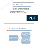 Causative Verbs Have