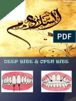 Deepbite & Open Bite