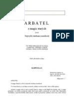 Arbatel – Z magie starých