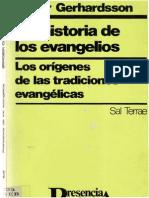 Gerhardsson, Birger - Prehistoria de Los Evangelios