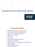 Electrification of Power-Train Systems