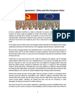Currency Swap Agreement - China and the European Union