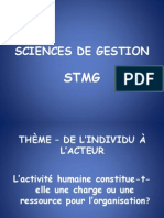 Formation Sciences de La Gestion