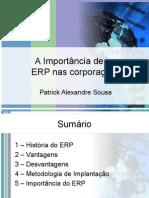 A Importância de um ERP nas corporações